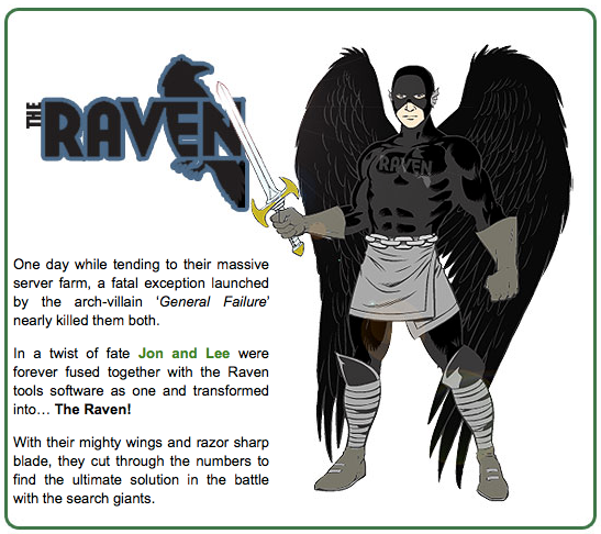 The Raven Super Hero
