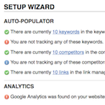 Website Setup Wizard