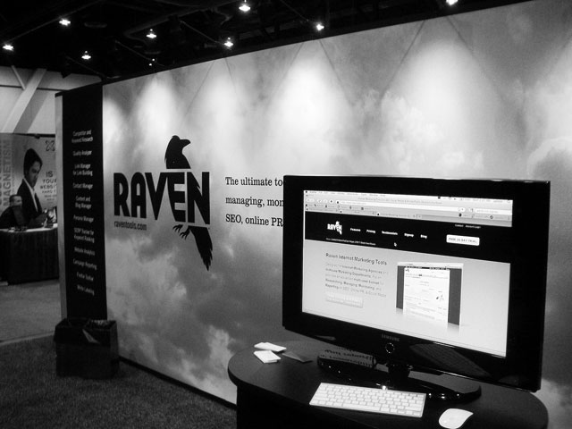 Raven Booth at PubCon