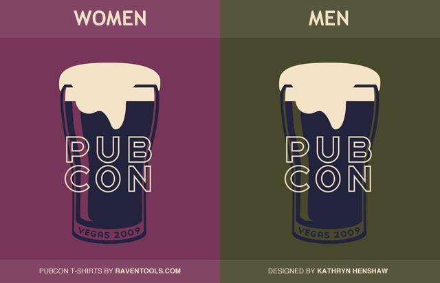 PubCon Vegas 2009 T-Shirts by Raven