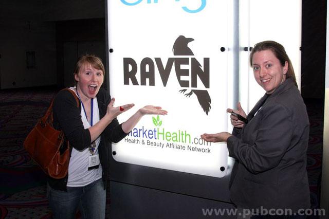 Raven as PubCon Sponsor