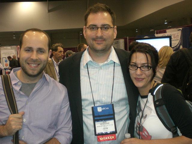 Taylor Pratt, Jon Henshaw and Manda Otto